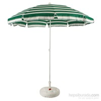 DearyBox VY10010P-2 200 cm Pamuk Kumaş Plaj Şemsiyesi