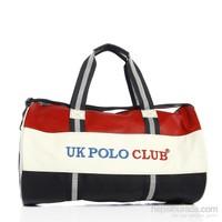 UK Polo Club - Unisex Spor Çanta - Kırmızı Lacivert