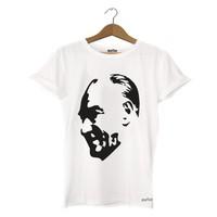 Dyetee Atatürk Silüet Erkek T-Shirt