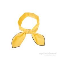 Cool Tie -Düz Renk Açık Sarı