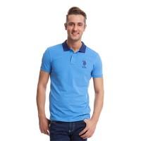 U.S. Polo Assn. Erkek Mavi T-Shirt