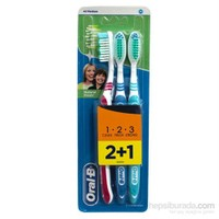 Oral-B Natural Fresh 2+1 Diş Fırçası