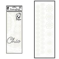 Ki-Sign Kadife Dokulu Çiçek Ütüyle Yapışan Desen Kağıdı - Ksfd-12