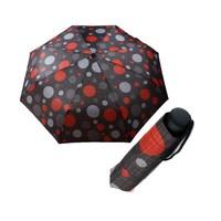 Zeus & Co. Gri Renkli Pointiyeli Manuel Rüzgara Dayanıklı Şemsiye