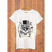 Dyetee Guns N Roses Erkek T-Shirt