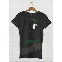 Dyetee Arrow Siluet Erkek T-Shirt