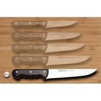 Bora 714-Be Mutfak Ve Kurban Wenge Saplı Ergonomik Bıçak No:4