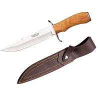 Joker Zorro Zeytin Ağaç Saplı Bıçak