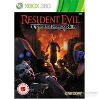 Resident Evil Operation Raccon City Xbox 360