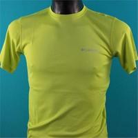 Columbia Zero Rules Short Sleeve Shirt Am6084 / Green - S