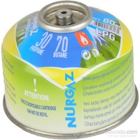 Nurgaz NG 203-V 80 GR Vidalı Kartuş