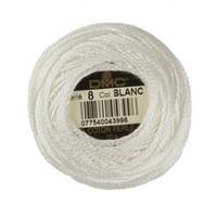 Dmc Koton Perle Yumak 10 Gr Beyaz No:8 - Blanc