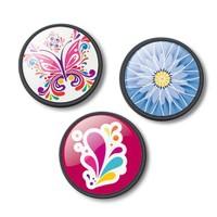 Nikidom Roller 3 Pins Floralia Rozet