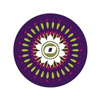 Nikidom Roller 2 Wheel Stickers Mandala