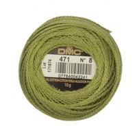 Dmc Koton Perle Yumak 10 Gr Yeşil No:8 - 471
