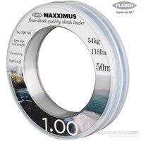 Fladen Maxxımus Flexı-Shock Leader 50Mt. - 1,00Mm.