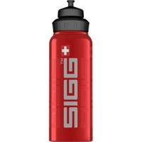 Sigg Wide Mouth Bottle Siggnature Red 1.0 L