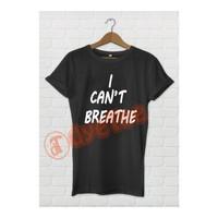 Dyetee I Can T Breathe Erkek T-Shirt