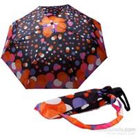 Zeus&Co. Renkli Noktalar Dünyası Rüzgara Dayanıklı Otomatik Şemsiye