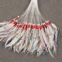 Spotbalık B02 Ördek Tüyü Çinekop Çapari Kösteği Beyaz 100Ad