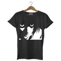 Dyetee Death Note Eyes Erkek T-Shirt