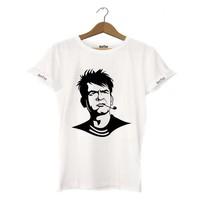 Dyetee Charlie Sheen Erkek T-Shirt