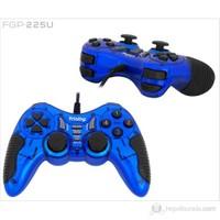 Frisby FGP-225U PC Uyumlu USB Game Pad Titreşimli Direct-X Uyumlu Mavi