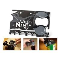 Buffer Ninja Wallet 18 İn 1 Multi Tool Kit
