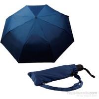 Zeus Lacivert Rüzgara Dayanıklı Otomatik Şemsiye
