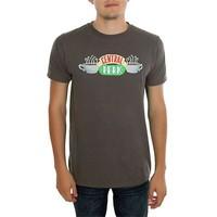 Köstebek Friends - Central Perk Erkek T-Shirt