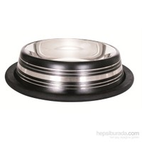 Lion Çelik Mama Kabı(Skid Bowl Stripped 64Oz 1600Ml)Siyah