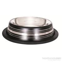 Lion Çelik Mama Kabı(Skid Bowl Stripped 96Oz 2300Ml)Siyah