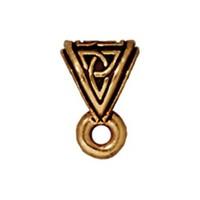 Tierra Cast Celtic 1 Adet 9.5X6 Mm Altın Rengi Takı Ucu Askı Aparatı - 94-5513-26
