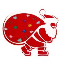 La Mia Hobikeçe 10'Lu Karışık Renk Noel Baba Keçe Motifler