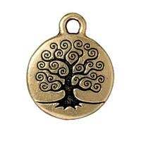 Tierra Cast 1 Adet 19.25X15.5 Mm Altın Rengi Hayat Ağacı Takı Aksesuarı - 94-2303-26