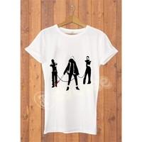Dyetee Camiseta Walking Dead Erkek T-Shirt