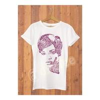 Dyetee Tipo Rihanna Erkek T-Shirt