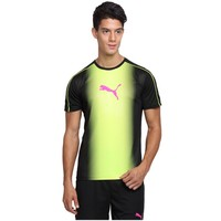 Puma İt Evotrg Cat Graphic Tee Black-Safety Y T-Shirt