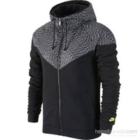 Nike Ru Grid Print Overlay Wr Ceket