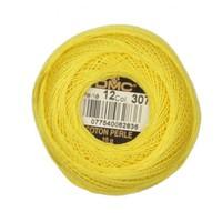 Dmc Koton Perle Yumak 10 Gr Sarı No:12 - 307