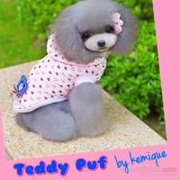 Teddy Puf Köpek Montu Teddy Puf By Kemique 2Xl