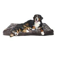 Trixie Köpek Yatağı 80X55Cm, Pati Desenli Gri