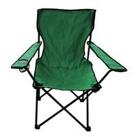 Katlanır Yeşil Kamp Sandalyesi