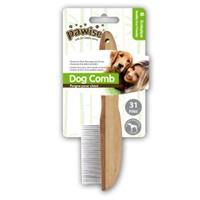 Pawise Tahta Saplı Köpek Fırçası 31 Pin Li