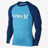 Hurley One & Only S/S Rashguard Erkek Licra Surf T-Shirt
