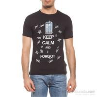 Köstebek Dr. Who - Keep Calm Erkek T-Shirt