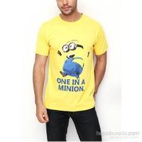 Köstebek Minion Erkek T-Shirt