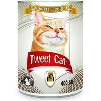 Tweet Cat Tavuk Etli Konserve Kedi Maması 400 Gr