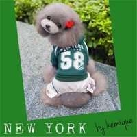 Kemique Yeşil Köpek Eşofman Takım-New York By Kemique
