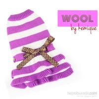Kemique Eflatun Elbise - Wool By Kemique